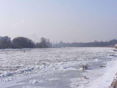 Frost in Dresden
