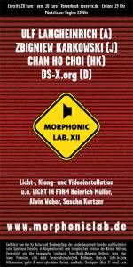 Morphonic Lab XII